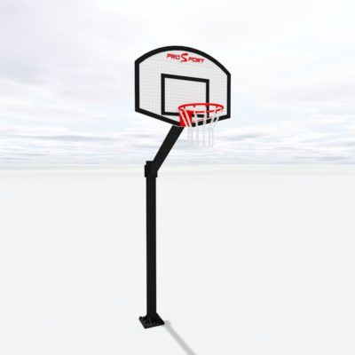 Баскетбольна стійка з щитом українського виробництва на замовлення