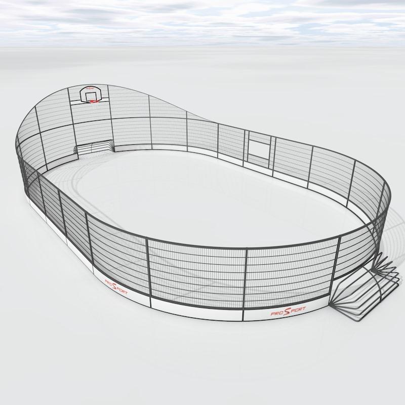 Спортивна арена для гри в пана футбол українського виробництва на замовлення