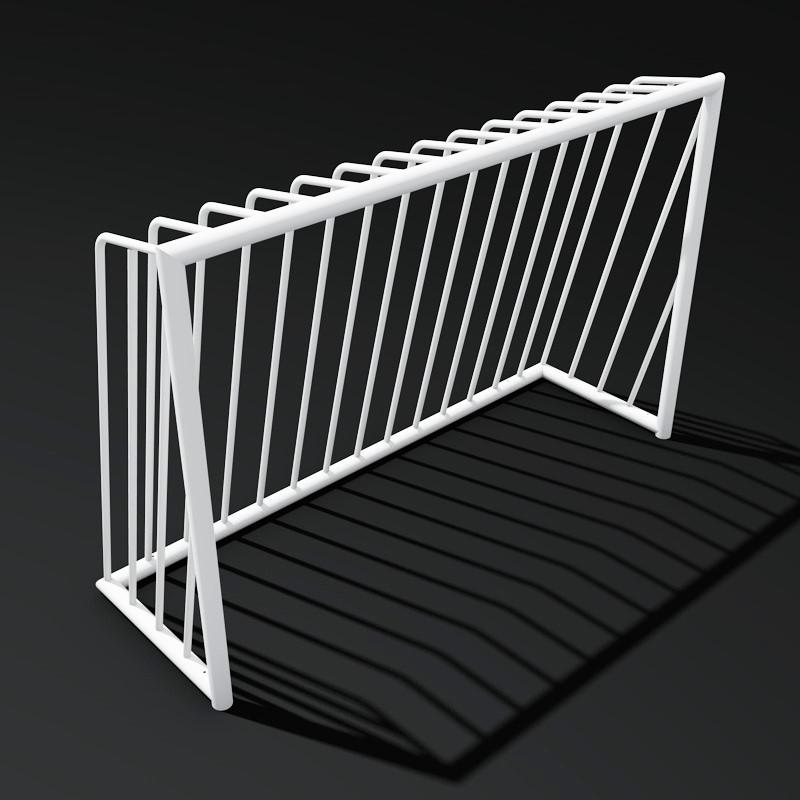 Антивандальні футбольні ворота для громадських майданчиків для міні-футболу на замовлення