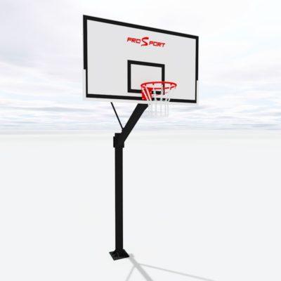 Баскетбольна стійка з профільної труби українського виробництва на замовлення
