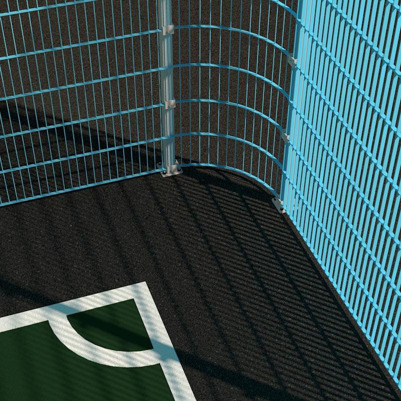 Антивандальне огородження для футбольних полів та спортивних майданчиків на замовлення